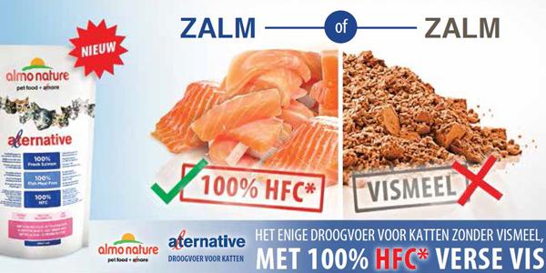 Almo Alternative kattenvoeding vers vlees