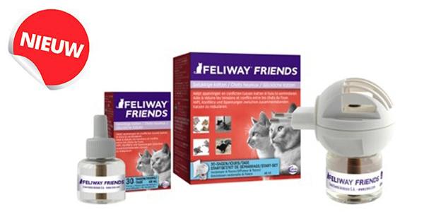 Ceva lanceert Feliway Friends