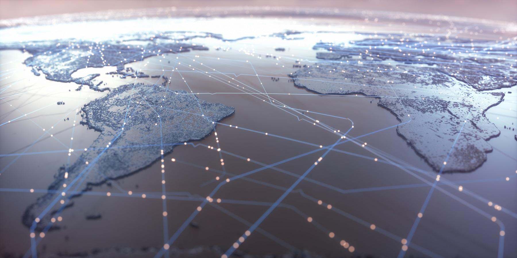 World Map Connectivity